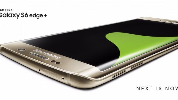 2. Galaxy S6 edge+_Gold Platinum_OOH