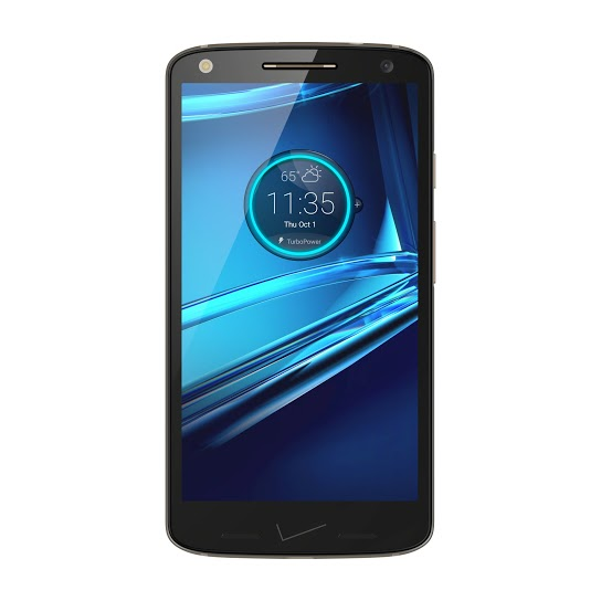 Droid Turbo 2 Black Front